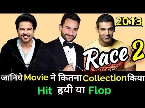 Saif Ali Khan & John Abraham RACE 2 2013 Bollywood Movie Lifetime WorldWide Box Office Collection