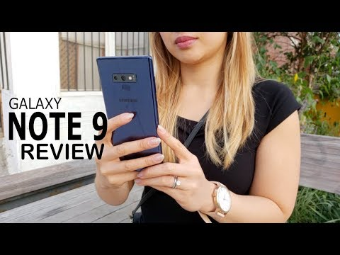 Video Samsung Galaxy Note 9 Review: My First Note & I Love It! download in MP3, 3GP, MP4, WEBM, AVI, FLV January 2017