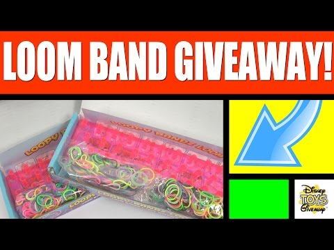 FREE STUFF LOOM BAND GIVEAWAY CONTEST #26 OPEN – Loom Bracelet – Loom Band – Rubber Band Bracelet