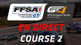 Championnat de France FFSA GT - GT4 European Series Southern Cup - Circuit Dijon-Prenois - Course 2