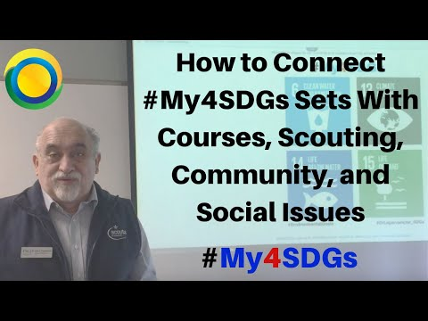 How to Connect Global Management Courses with the Sustainable Development Goals / Dr. Jose G. Lepervanche / #My4SDGs #GLOBE4SDGs
