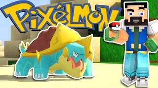 Minecraft Pixelmon - The Coolest One Yet? - EP02 (Pokemon Mod)
