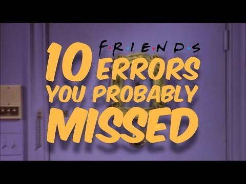 Video 10 Friends Errors You Probably Missed download in MP3, 3GP, MP4, WEBM, AVI, FLV January 2017