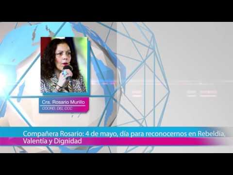 Compañera Rosario: 4 de mayo, día para reconocernos en Rebeldía, Valentía y Dignidad