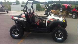 9. 2012 Polaris RZR S 800 White/Orange Madness LE
