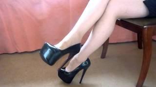 Dangling Stiletto Heels