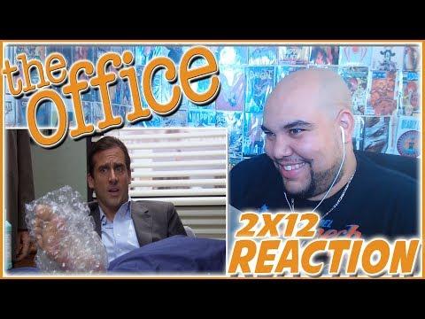 "The Office Season 2 Episode 12 REACTION ""The Injury"" 2x12 Reaction"