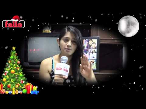 Chandni Bhagnani Wishes Cristmas & New Year On follo