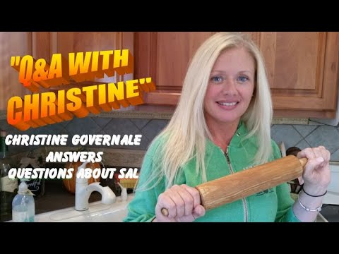 answers - Christine Governale -- Sal's wife -- answers viewers' questions about her husband.