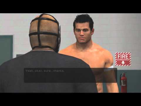 "WWE Smackdown Vs Raw 2011 Road To WrestleMania ""Mysterio"" - Part 1 - Car Crash"