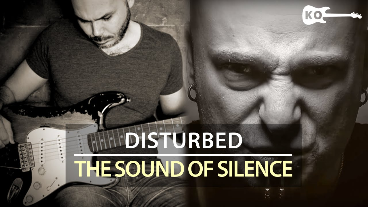 Disturbed / Simon & Garfunkel – The Sound of Silence – Electric Guitar Cover by Kfir Ochaion