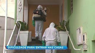 Moradores dificultam trabalho dos agentes de saúde no combate à dengue em Marília