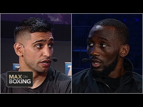 Terence Crawford, Amir Khan Speak Ahead Of PPV Fight | Max On Boxing