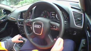 AUDI Q5 SE TDI QUATTRO 2009 Test Drive - THE UK CAR REVIEWS Funny