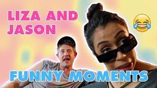 Video JASON NASH AND LIZA KOSHY FUNNY MOMENTS MP3, 3GP, MP4, WEBM, AVI, FLV Januari 2019