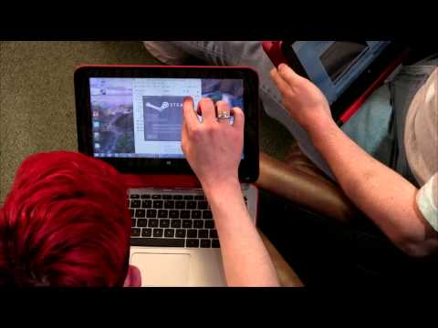 X360 - Chad Johnson and Patrick Delahanty review the HP Pavilion 11t-n000 x360 PC which can convert from a notebook to a tablet.