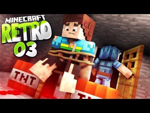 GEFESSELT + EINE UNBEKANNTE NEUE STIMME • Minecraft RETRO #03 | S3 | Minecraft Roleplay Deutsch (видео)