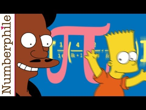 Pi and Four Fingers Numberphile