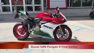 1. Ducati 1299 Panigale R Final Edition | First Look