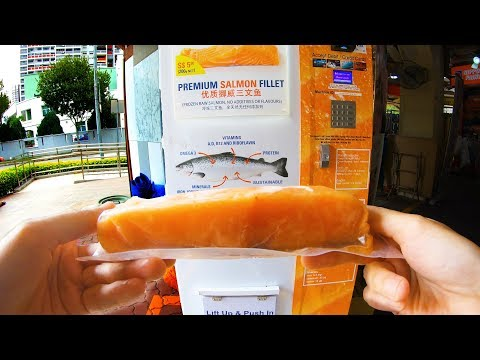 Salmon Vending Machine