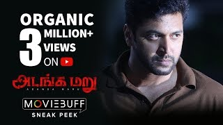 Video Adanga Maru - Moviebuff Sneak Peek | Jayam Ravi | Raashi Khanna | Karthik Thangavel MP3, 3GP, MP4, WEBM, AVI, FLV Desember 2018