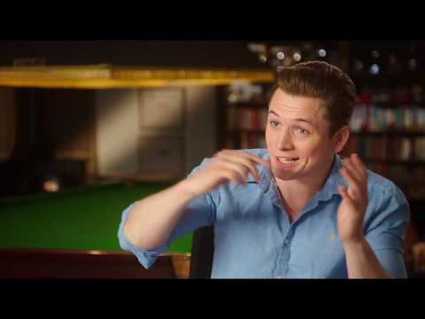 Kingsman: The Golden Circle (Interview 'Taron Egerton / Eggsy')