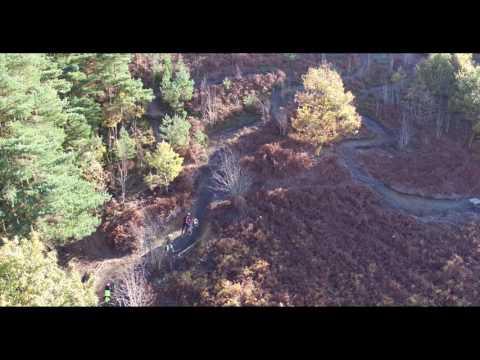 mountan biking Tirpentws (видео)