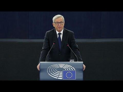 Με μηνύματα προς Ελλάδα, Γερμανία και Μόσχα η ομιλία Γκιούνκερ στο Ευρωκοινοβούλιο