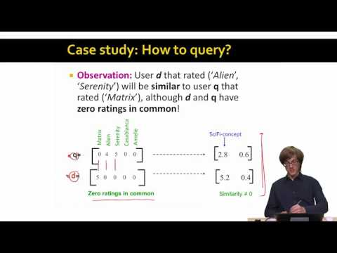 Lecture 50 — SVD Example And Conclusion | Stanford University