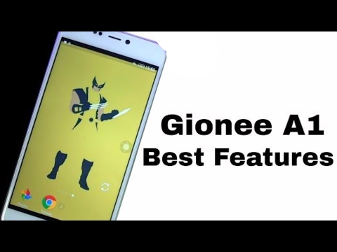 15 Best Features of Gionee A1 and Tips and tricks