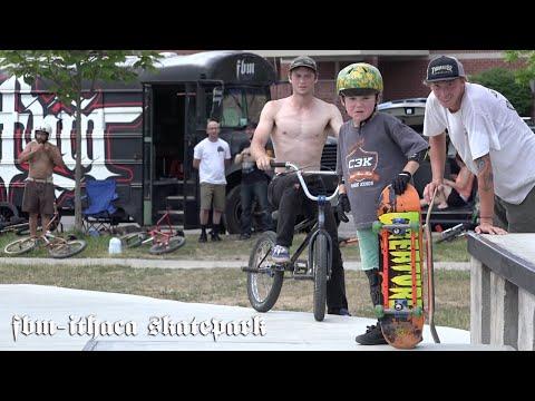 BMX- FBM at the Ithaca Skatepark