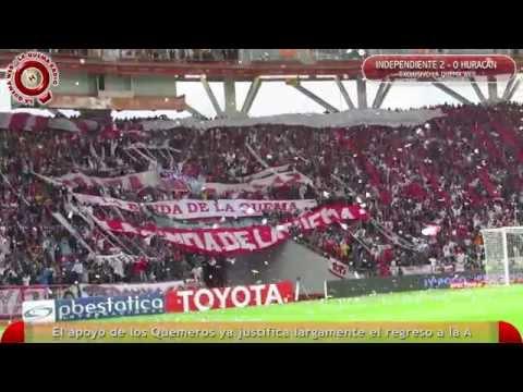 La Banda de La Quema en Desempate Independiente vs Huracán - HD - www.laquemaweb.com.ar - La Banda de la Quema - Huracán
