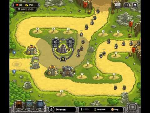 Kingdom Rush - Level 14 (Campaign, Premium Content) - Ruins Of Acaroth