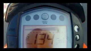 8. KTM Duke 125 - Top Speed 134 Km/h