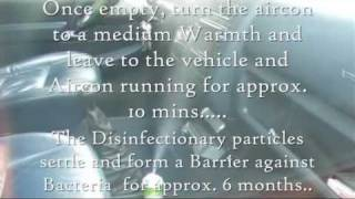 EazY  Clean NANO Aircon Disinfection - Klima Desinfektion
