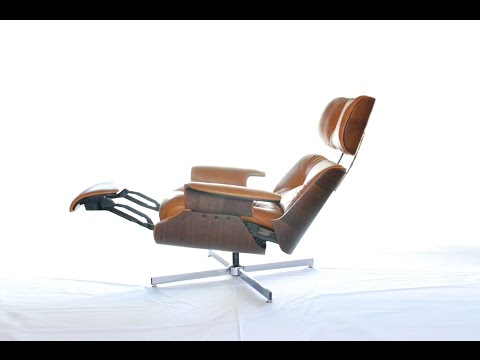 c.f.a. / plycraft recliner lounge sessel george mulhouser