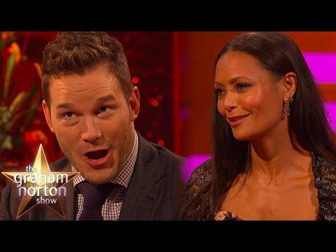 Chris Pratt Is Amazed By Thandie Newton's Traditional Japanese   The Graham Norton Show