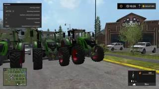 3 Fendt tractors that are already in the game for the first time
