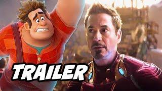 Video Wreck It Ralph 2 Trailer - Infinity War Marvel Disney Easter Eggs Explained MP3, 3GP, MP4, WEBM, AVI, FLV Juni 2018