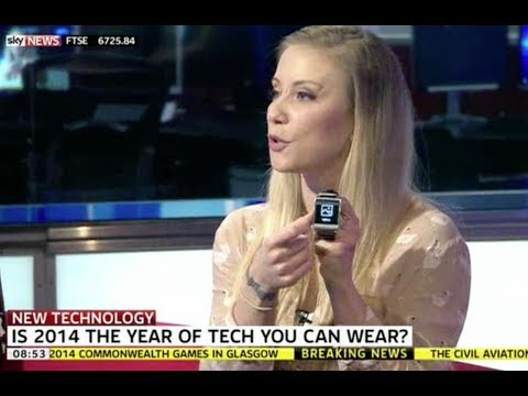 CES Goes Wearable Tech Mad! On Sky New Sunrise 10th Jan 2014
