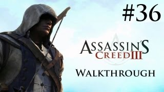 """Thanks for all your support :)It's here guys! I can't express to you how much I've been looking forward to this game. This is Part 36 of my Assassin's Creed 3 gameplay walkthrough. It shows Sequence 10, which has us in control of Connor Kenway. We're taking on a homestead mission in order to protect Big Dave from the British Regulars. I'm playing Assassin's Creed 3 on the XBOX 360. If you enjoyed the video, please click the """"like"""" button  and consider adding to your favorites; it means so much to me.Giveaway (Assassin's Creed 3 Collector's Editions + Consoles):1. Subscribe to FusionCap2. Leave a comment (better comments give you a greater chance of winning)Twitter: http://www.twitter.com/FusionCapFacebook: http://www.facebook.com/FusionCapThe American Colonies, 1775. It's a time of civil unrest and political upheaval in the Americas. As a Native American assassin fights to protect his land and his people, he will ignite the flames of a young nation's revolution. Assassin's Creed III takes you back to the American Revolutionary War, but not the one you've read about in history books.Hope you enjoy. Please rate the video and make sure to subscribe for more Assassin's Creed 3.Developer: Ubisoft MontrealPublisher: Ubisoft"""