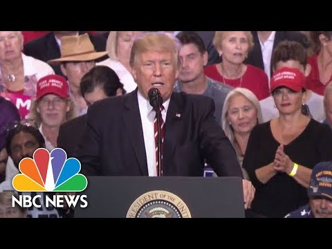 President Donald Trump Threatens Government Shutdown To Build Border Wall | NBC News