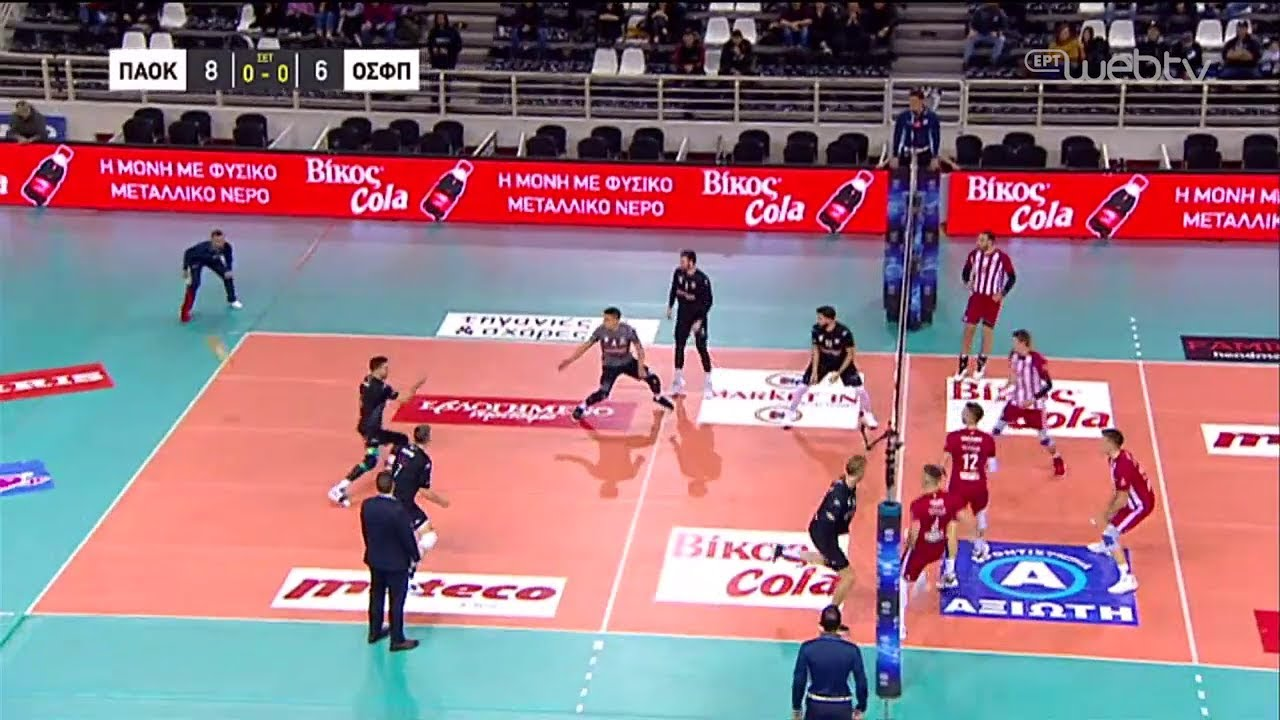 HIGHLIGHTS | Volley League Cup: ΠΑΟΚ – ΟΛΥΜΠΙΑΚΟΣ | 05/12/2019 | ΕΡΤ