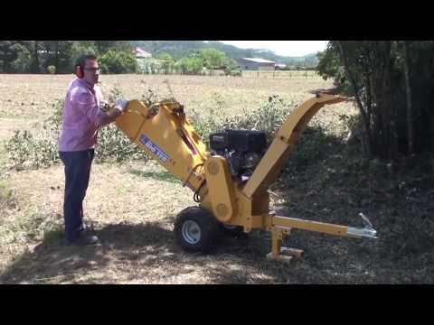 Triturador de galhos Lippel - Bio 120 - ideal par Jardinagem, Condomínios ou uso doméstico.