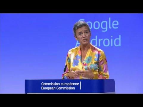 Κομισιόν: Πρόστιμο ρεκόρ 4,34 δισ. ευρώ στην Google