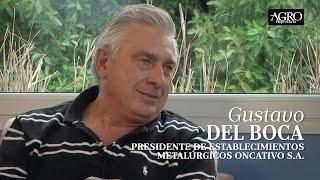 Gustavo Del Boca - Presidente de Establecimientos Metalúrgicos Oncativo S.A.