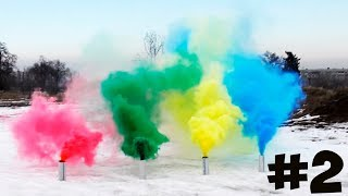 HOW TO MAKE COLORED SMOKE GRENADES #2 full download video download mp3 download music download