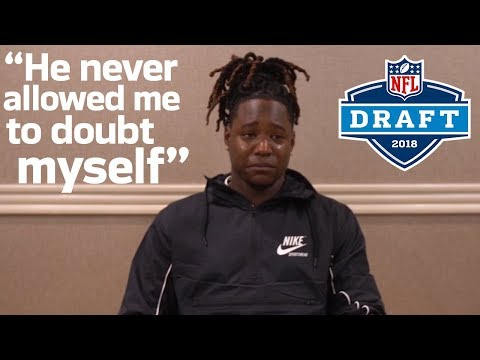 Video: Shaquem Griffin Gets Emotional Watching a Message from His Brother | 2018 NFL Draft