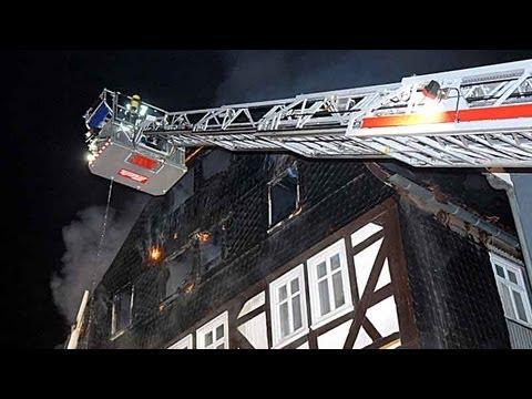 Millionenschaden bei Großbrand in Frankenberg