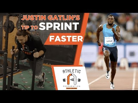 Justin Gatlin's Speed Training Tip To Sprint Faster